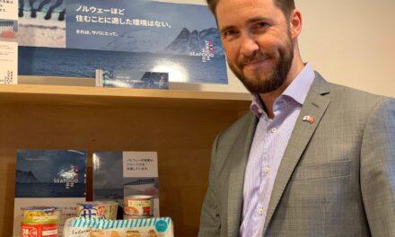 Makrell på boks bestselger i Japan